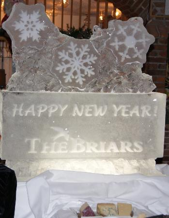The Briars: Icescuplture