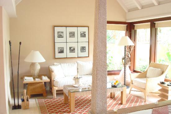 The Oberoi, Mauritius: Sitting area