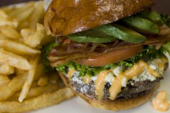 The Metropolitan: California Cobb Burger