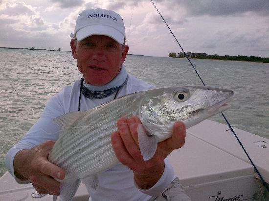 Da Reel Deal Fishing Charters: This is what I call a nice Bonefish, day 3