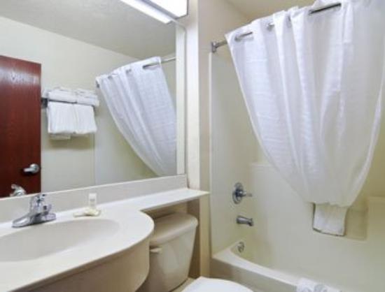 Microtel Inn & Suites by Wyndham Marianna: Bathroom