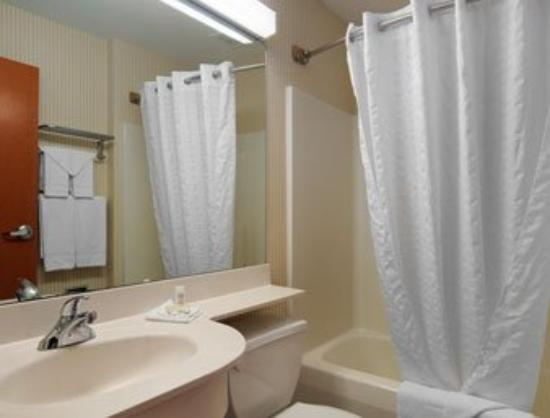 Microtel Inn & Suites by Wyndham Springville: Bathroom