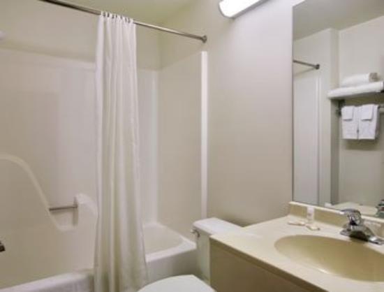 Microtel Inn & Suites by Wyndham Fond Du Lac: Bathroom