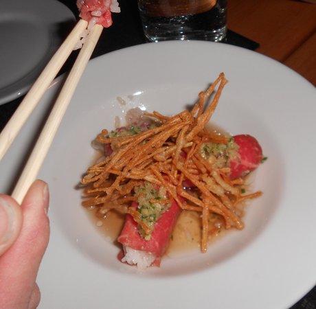 Dashi:                   Wagyu Beef Carpaccio (appetizer)