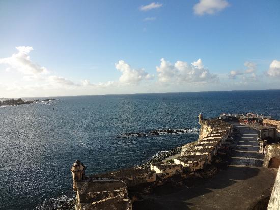 Site historique national de San Juan : El Morro wall