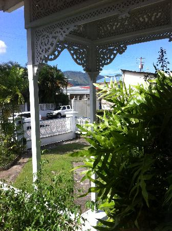 The Gingerbread House: View from the veranda