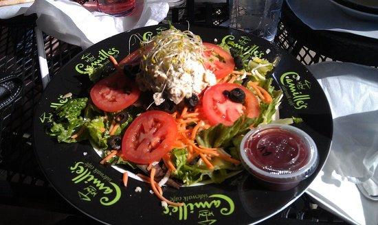 Cafe Allure : Delicious Chicken Salad!