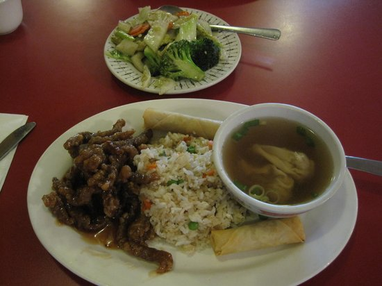 Cantonese Restaurant: Ginger Beef Lunch Special