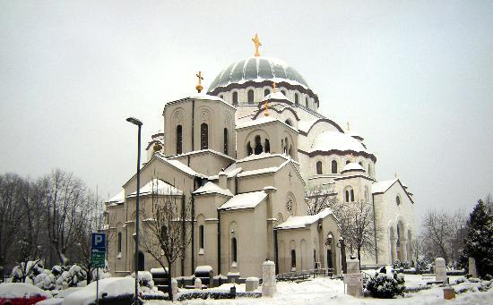 St. Sava Temple (Hram Svetog Save): Small Church of St. Sava, and the Temple of St. Sava