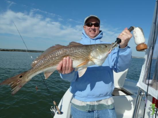 Captain Smiley Fishing Charters: Redfish Dec 2011