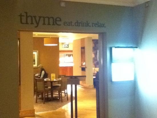 Premier Inn Carlisle M6 Jct44 Hotel : Thyme, in house restaurant