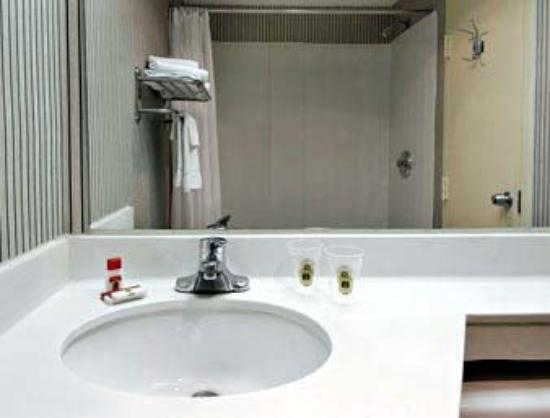 Americas Best Value Inn - Downtown / Midtown: Bathroom