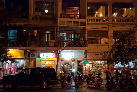 My Home Restaurant at night