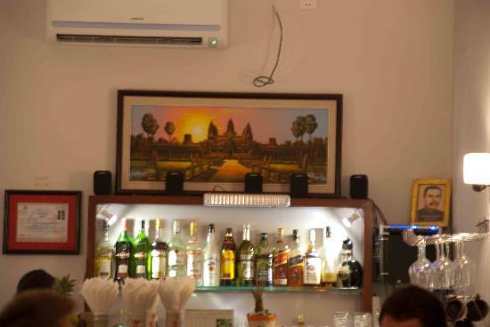 What a pizza at My Home! - Picture of My Home Restaurant, Phnom Penh ...