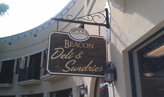 Beacon Deli & Portside Pub : Sign