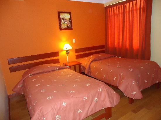 Hotel Casa de Mama Valle: habitacion twin