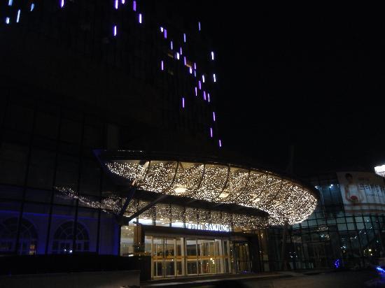 โรงแรมซัมจุง: ホテル外観