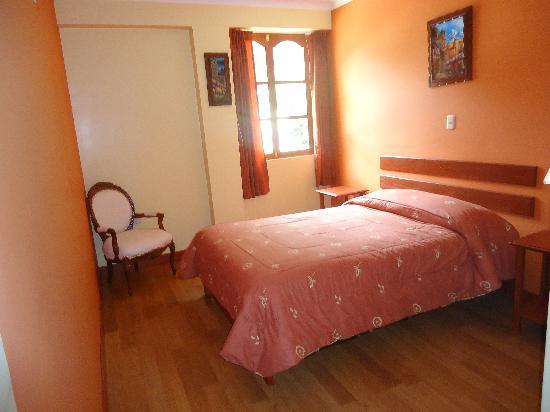 Hotel Casa de Mama Valle: habitacion matrimonial