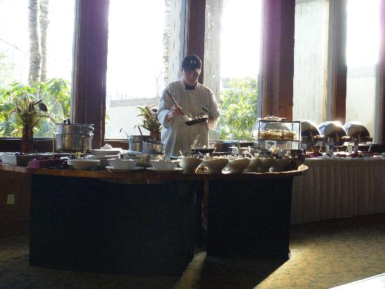 Heritage Hotel: breakfast buffet