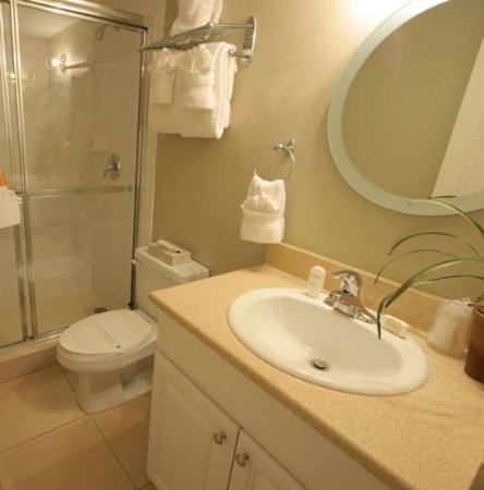 Silver Sands Gulf Beach Resort: Bathroom