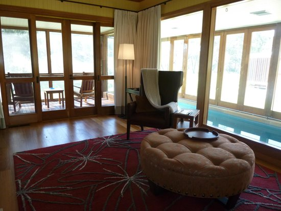 Emirates One&Only Wolgan Valley: Verandah and pool - you never want to leave  your suite!