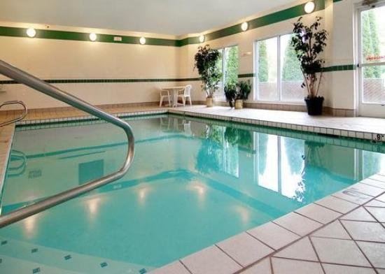 Howard Johnson Inn and Suites Vancouver by Vancouver Mall : Pool
