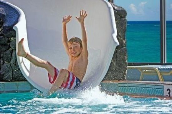 Sun Viking Lodge: 60-Ft. Waterslide!
