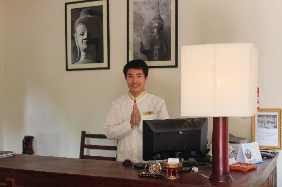 Luang Prabang Residence: Entrance