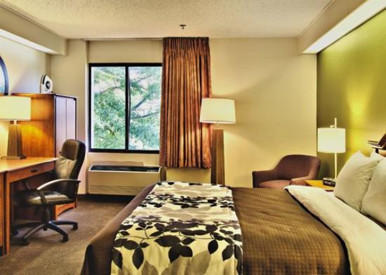Sleep Inn: Double Bed