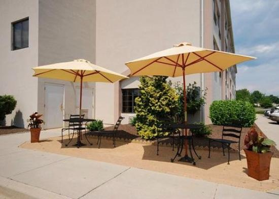 Sleep Inn: Patio