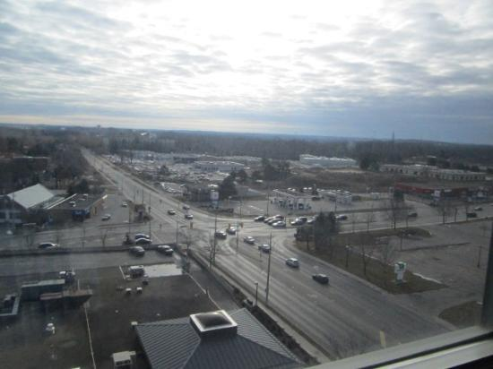 Radisson Hotel Kitchener: the view