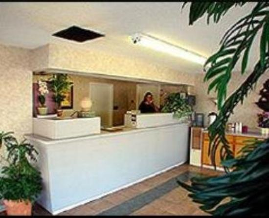 Budget Inn: Lobby