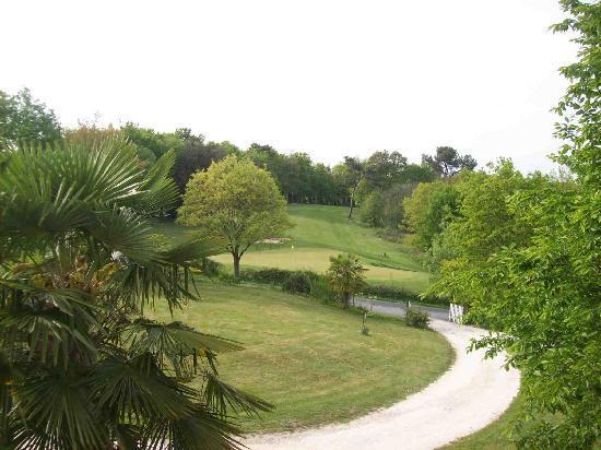 Logis de la Brumanderie : La vue sur le trou n°7 du golf