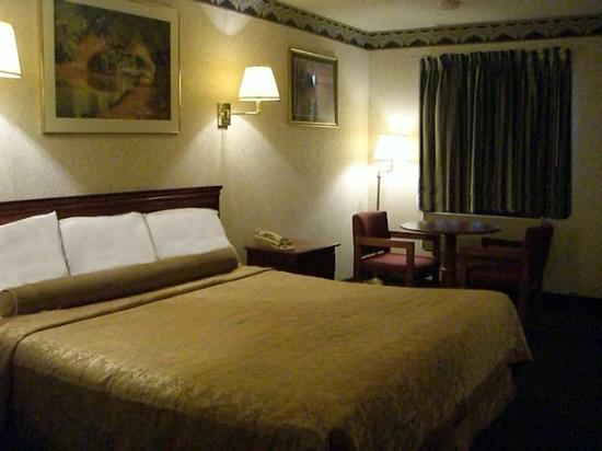 Red Carpet Inn Williamstown: Non smoking room with king bed