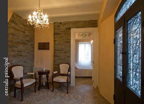 Hotel Villa Auristela: hall