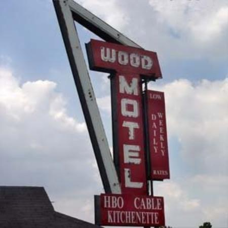 Wood Motel: Exterior View