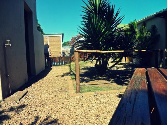 All Africa J Bay Lodge : Backyarad area