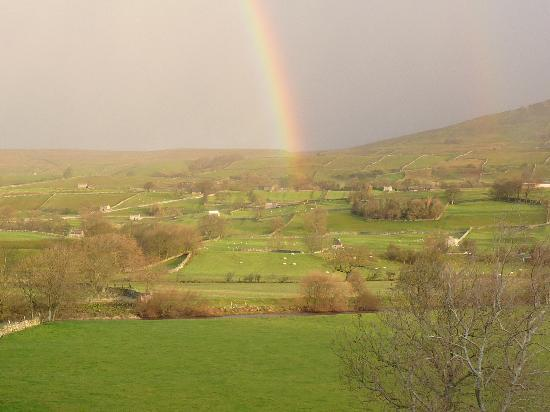 Stoney End  B & B: View of dale from Yoredale