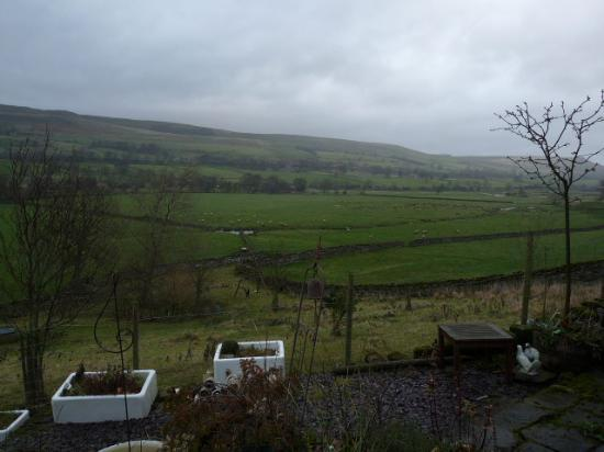 Stoney End  B & B: view of dale from Yordale