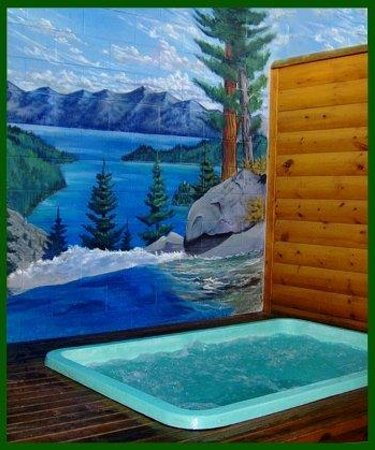 Tahoe Valley Lodge : Private Hot Tub