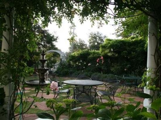 Inn at Occidental: garden courtyard