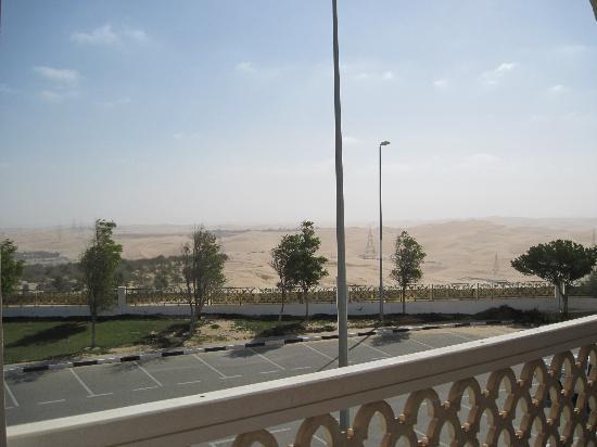 Liwa Hotel: view