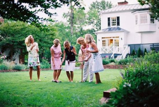 Croquet Lawn Picture Of Clifton Inn Charlottesville