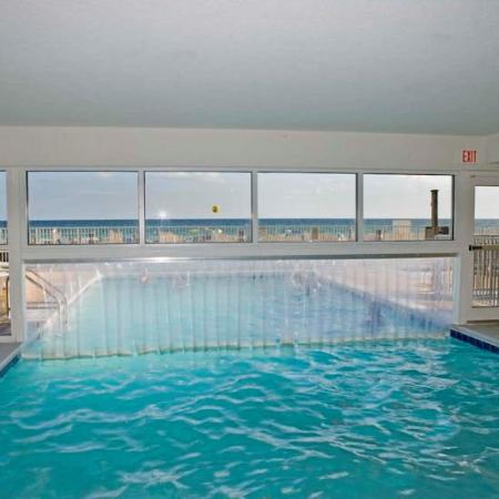 Emerald Isle Resort and Condominiums: Emerald Isle Pool Indoor View
