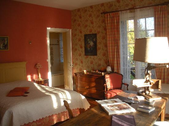 Manoir de Graincourt : chambre RENOIR