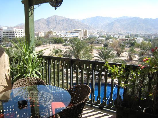 Movenpick Resort & Residences Aqaba: view terrace hotel room