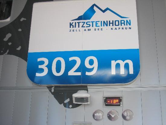 At the top of Kitzsteinhorn!