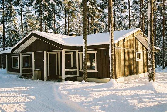 Hotel Vuokatinhovi : Vuokatinhovi cottage - Winter fiiling
