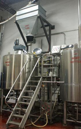 Mayflower Brewing Company: Brew house