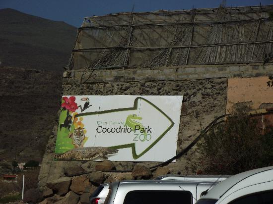Cocodrilo Park zoo : Indgang til Cocodrilo